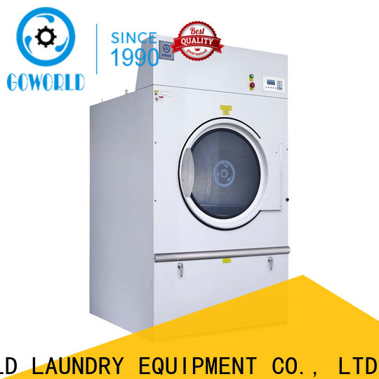 GOWORLD heating industrial tumble dryer easy use for laundry plants