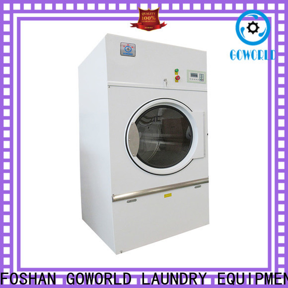GOWORLD automatic laundry dryer machine simple installation for hospital