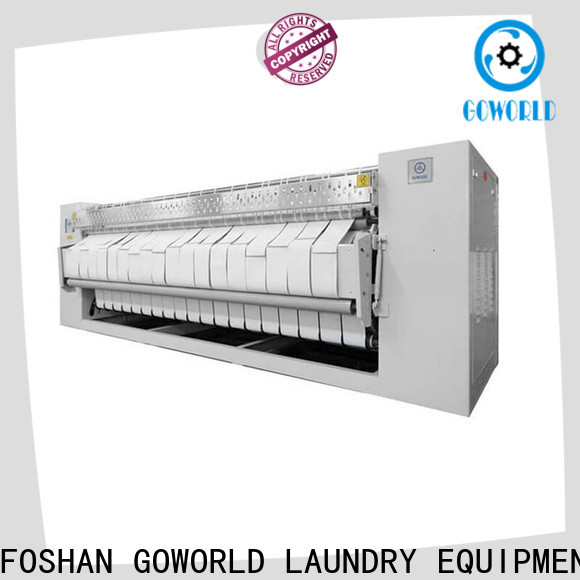 GOWORLD heat proof flat roll ironer for sale for hotel