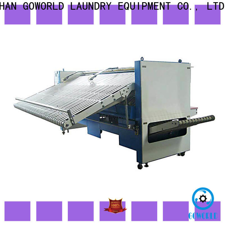 multifunction automatic towel folder engineering high speed for textile industries