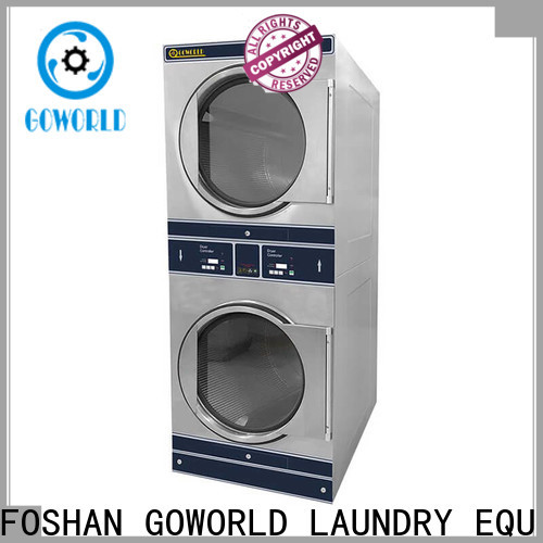 Energy Saving stacking washer dryer dryer electric heating for laundry shop