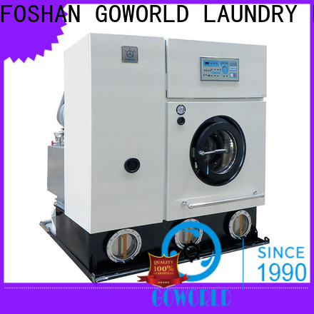 GOWORLD safe dry cleaning equipment Easy operated for railway company