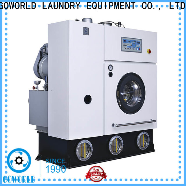 GOWORLD industries dry cleaning machine China for railway company