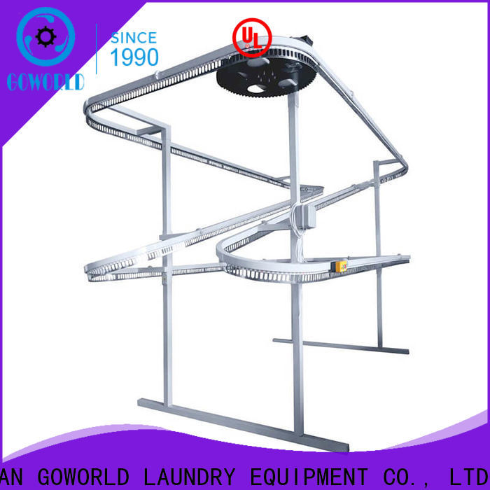 GOWORLD practical laundry conveyor supply for shop