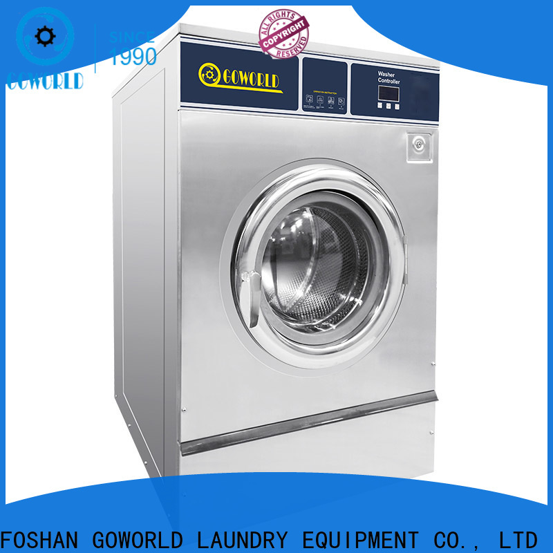 GOWORLD center barrier washer extractor manufacturer for laundry plants