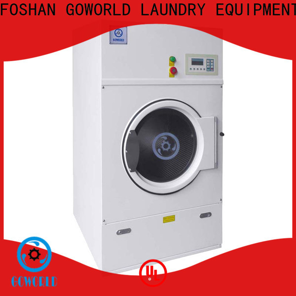 GOWORLD Stainless steel electric tumble dryer factory price for inns
