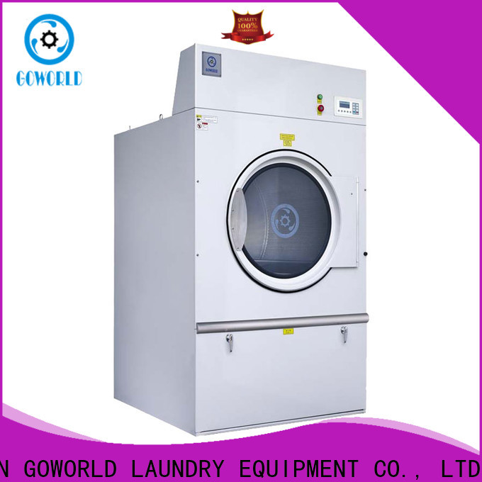 GOWORLD electric laundry dryer machine steadily for laundry plants