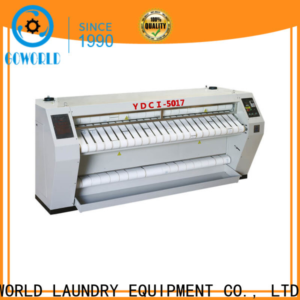 GOWORLD high quality roller ironing machine factory price for inns