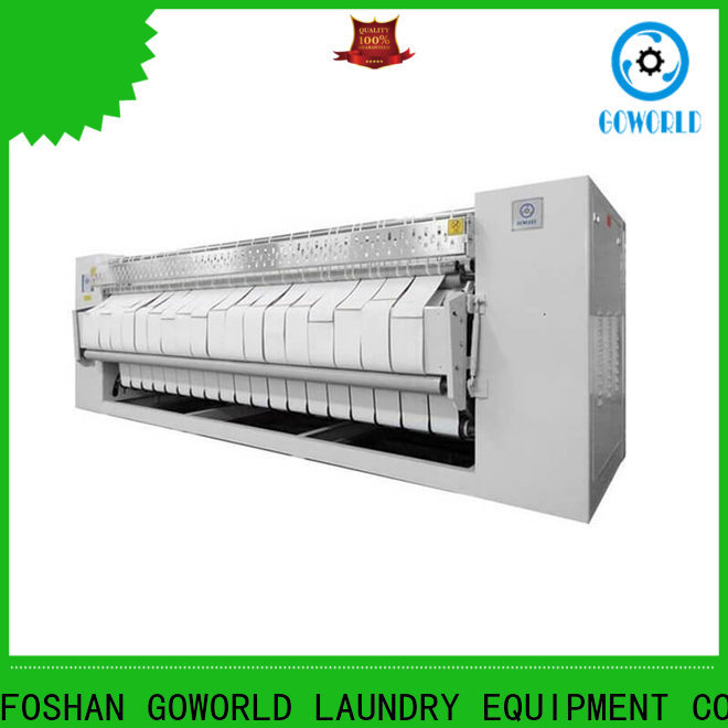 GOWORLD high quality flat roll ironer factory price for hospital