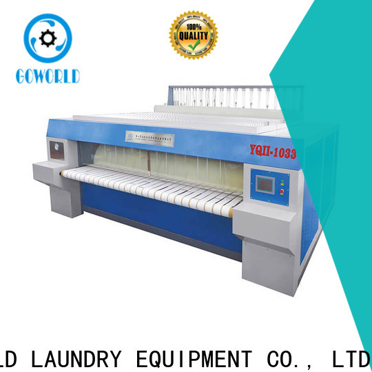 GOWORLD safe ironer machine free installation for hospital