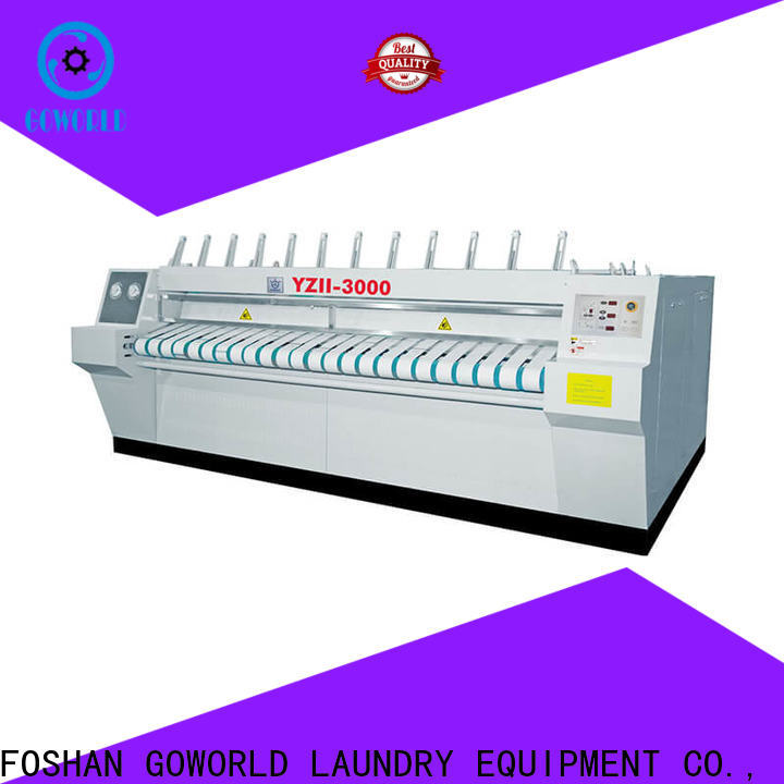 safe flatwork ironer textile for sale for laundry shop