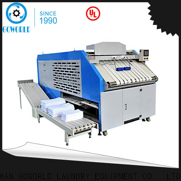 GOWORLD industries towel folder intelligent control system for laundry factory