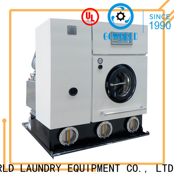 reliable dry cleaning equipment cleaning environment friendly for textile industries