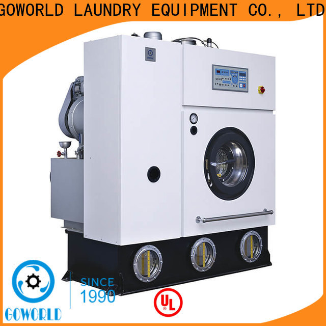 GOWORLD hotel dry cleaning washing machine China for laundry shop