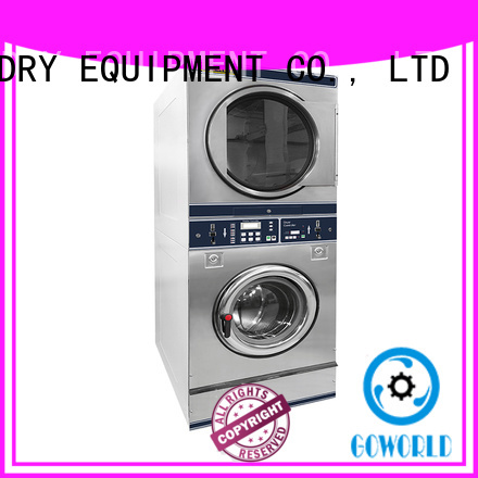 8kg-15kg Coin operated combo washer dryer for restaurants,railway company,fire brigade