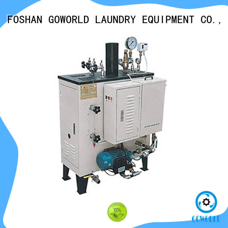GOWORLD steam gas steam boiler low noise for textile industrial