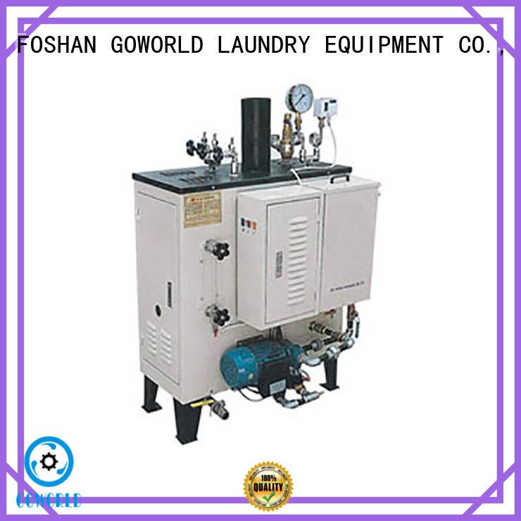 GOWORLD simple diesel steam boiler environment friendly for laundromat