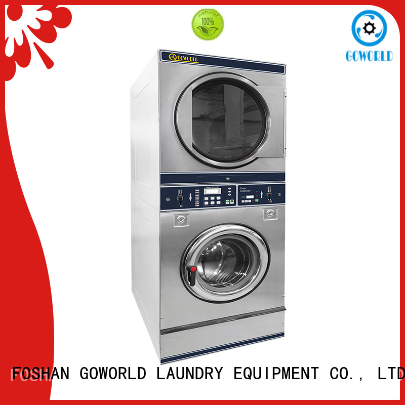 GOWORLD safe use self service laundry equipment for sale for service-service center