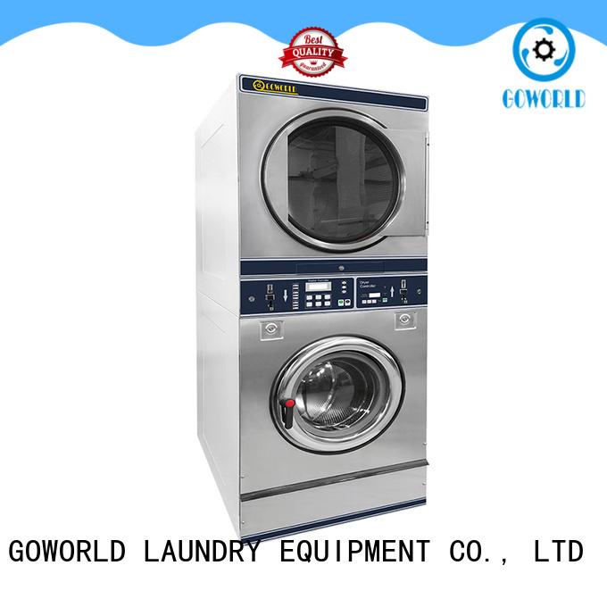GOWORLD self service washing machine LPG gas heating for school