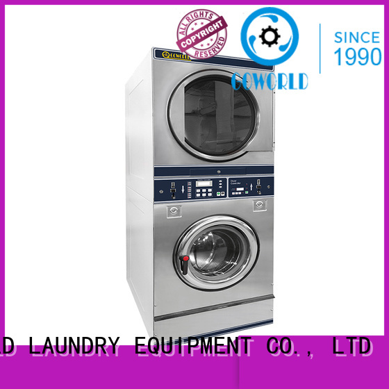 GOWORLD card operated laundry machines combo for laundry shop