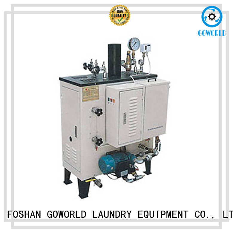 GOWORLD industrial diesel steam boiler low noise for textile industrial