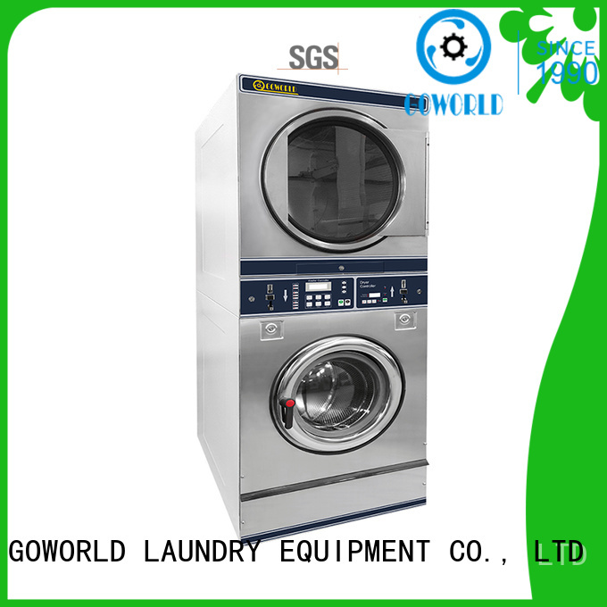 coin operated washer and dryer combo serviceservice shopcommercial GOWORLD Brand company