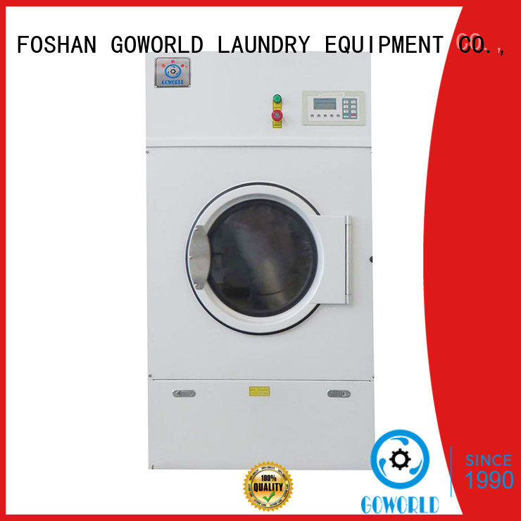 high quality industrial tumble dryer equipment simple installation for hospital