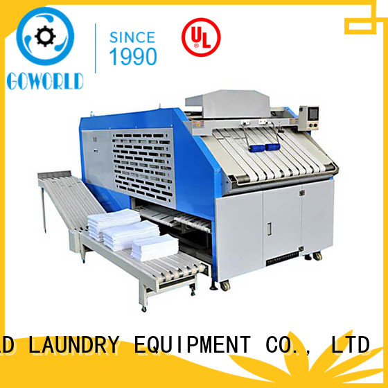 GOWORLD safe towel folding machine efficiency for medical engineering