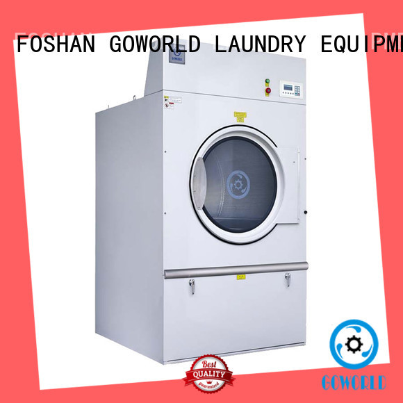 Stainless steel gas tumble dryer equipment steadily for laundry plants