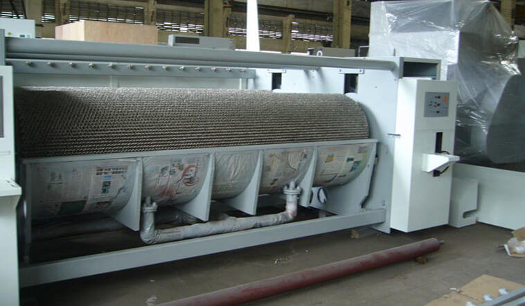 stainless steel flatwork ironer hospital factory price for textile industries-3