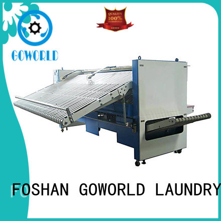 GOWORLD laundry automatic towel folder factory price for medical engineering