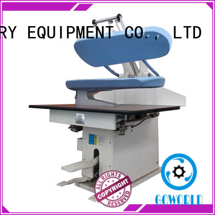 GOWORLD multifunction laundry press machine Manual control for dry cleaning shops