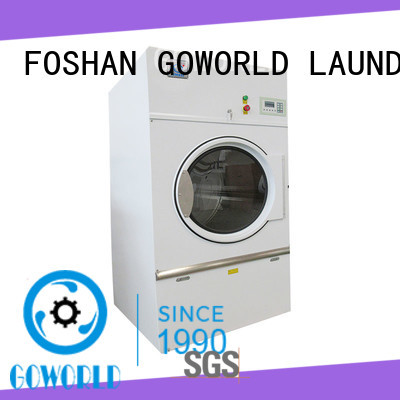 standard industrial tumble dryer low noise for laundry plants