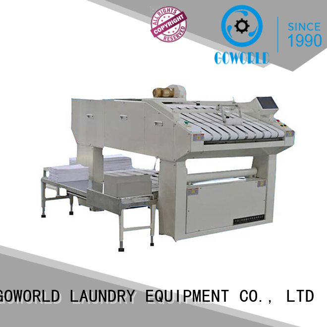 automatic towel folding machine sheet factory price for laundry factory