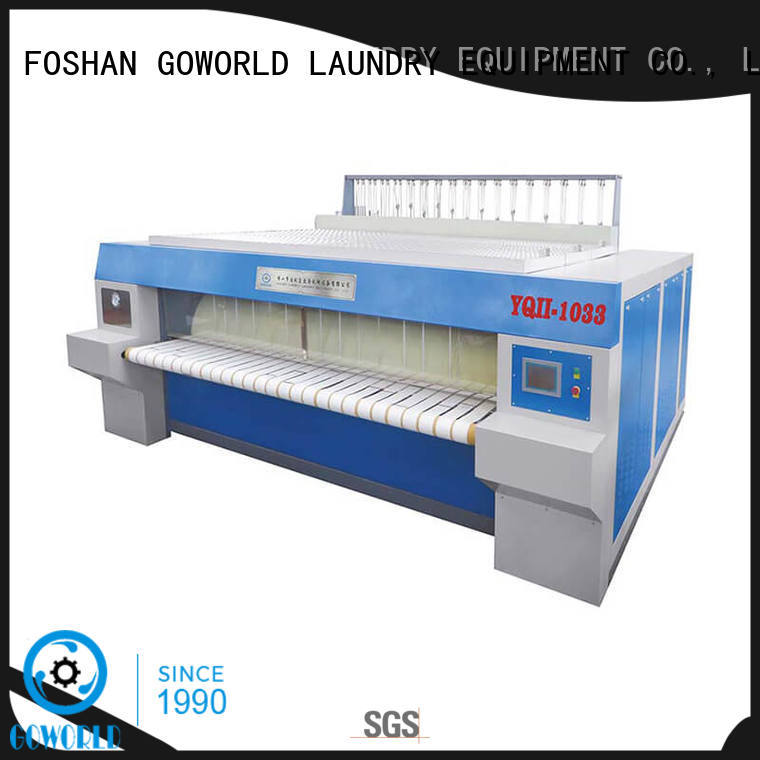 textile ironer machine factory price for hospital GOWORLD