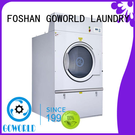 GOWORLD high quality gas tumble dryer for drying laundry cloth for inns