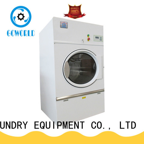 GOWORLD industrial laundry dryer machine for drying laundry cloth for hotel