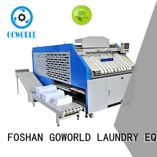 GOWORLD safe towel folding machine efficiency for textile industries