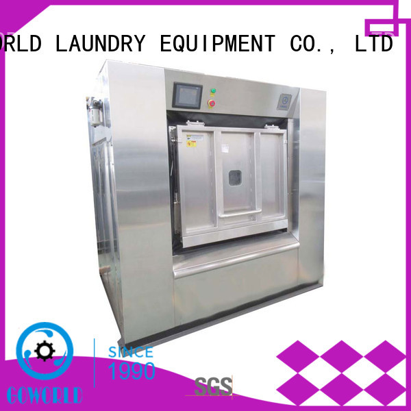 GOWORLD hospitals industrial washer extractor easy use for laundry plants