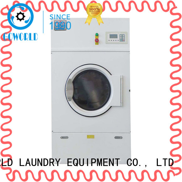 GOWORLD standard electric tumble dryer factory price for inns