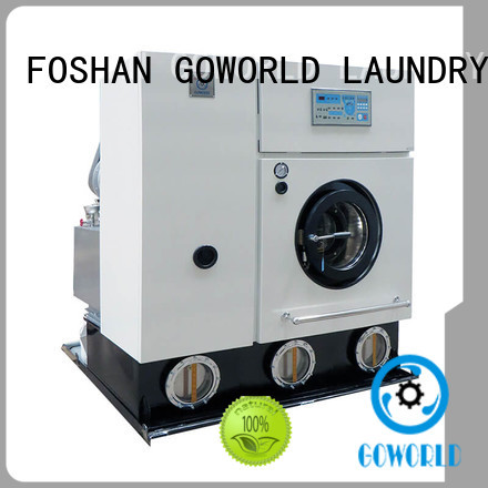 GOWORLD safe dry cleaning washing machine energy saving for laundry shop