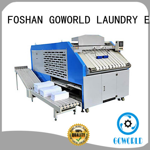 intelligent towel folding machine textile intelligent control system for laundry factory