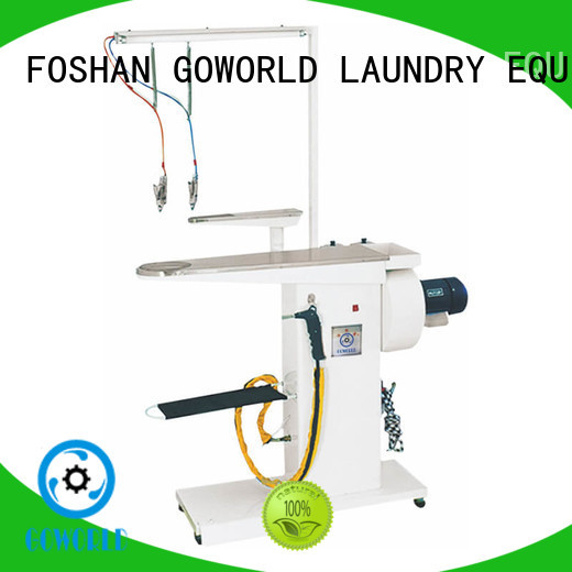 GOWORLD spotting laundry conveyor for sale for laundry