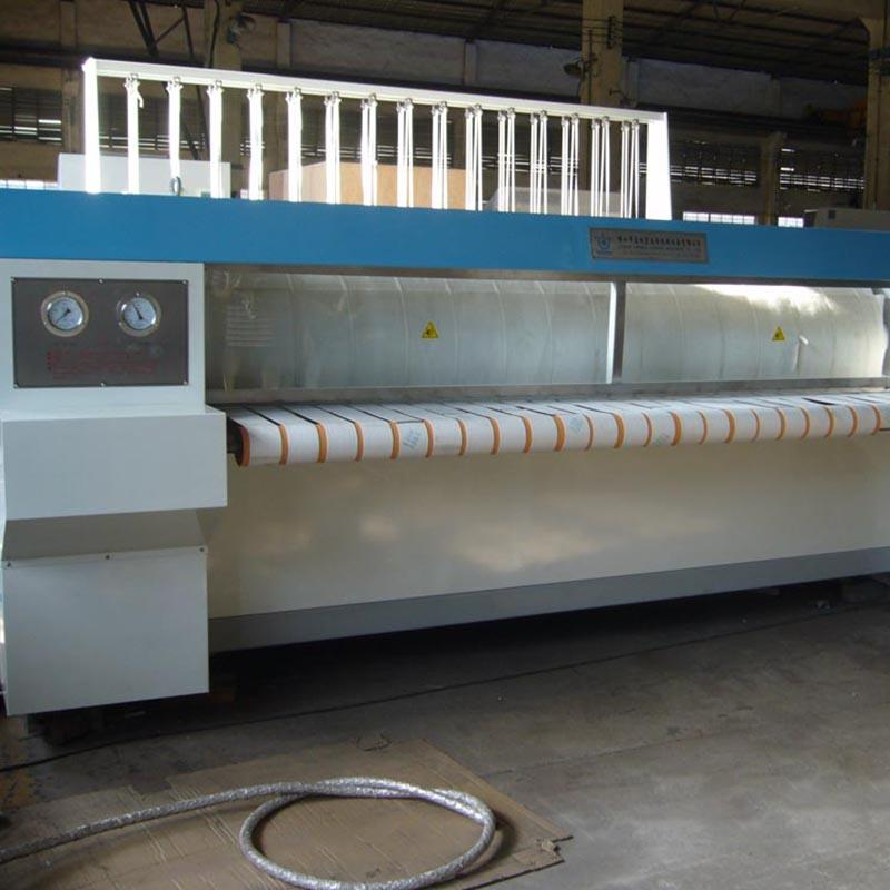 GOWORLD heat proof flat work ironer machine free installation for inns-2