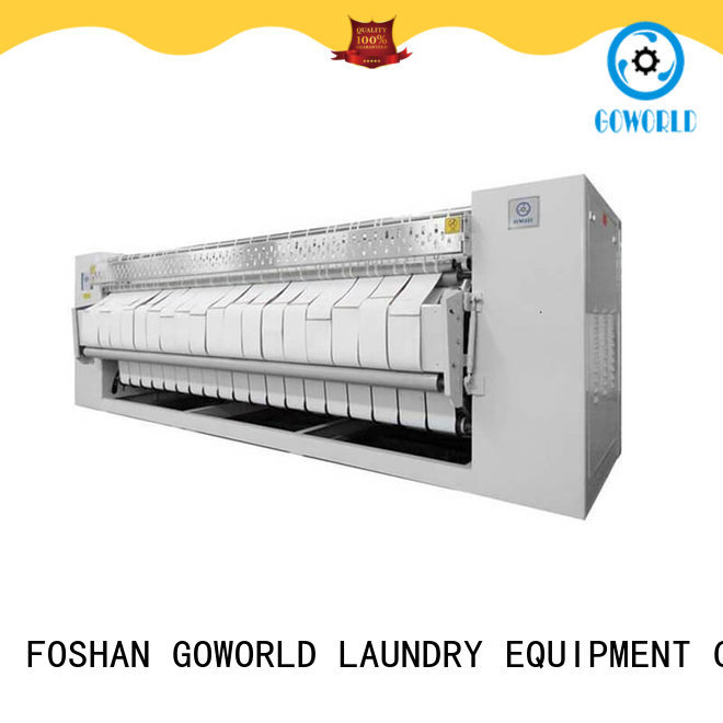 GOWORLD safe roller ironing machine for sale for laundry shop