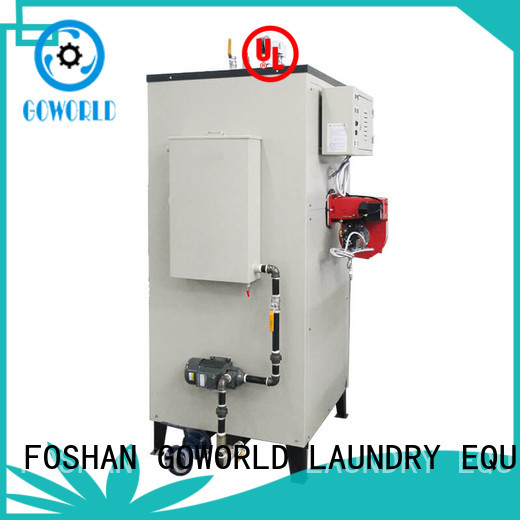 GOWORLD simple gas steam boiler low noise for laundromat