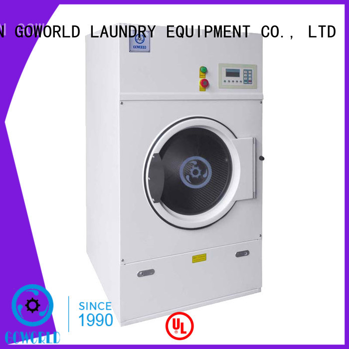 GOWORLD equipment tumble dryer machine easy use for hospital
