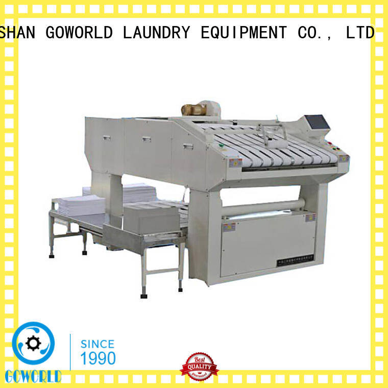 multifunction folding machine textile factory price for laundry factory