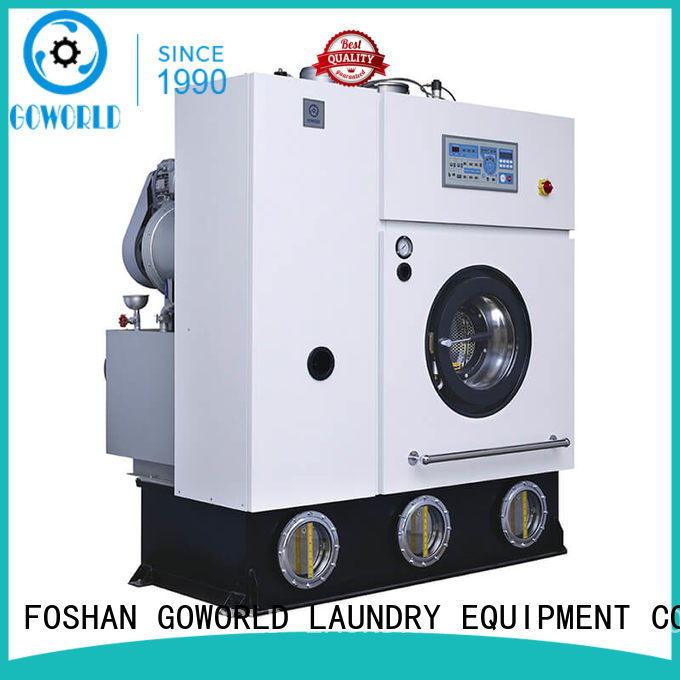 automatic dry cleaning machine environment for railway company