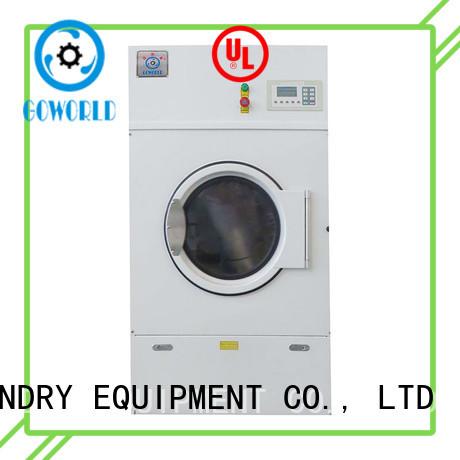 GOWORLD drying commercial tumble dryer low noise for laundry plants